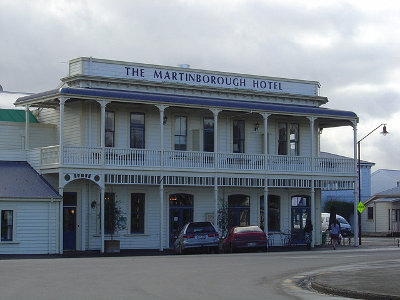 Hotel Wairarapa, New Zealand
