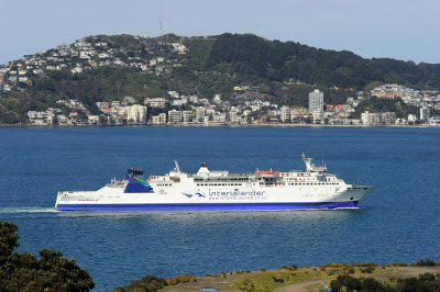 Wellington ferry, New Zealand